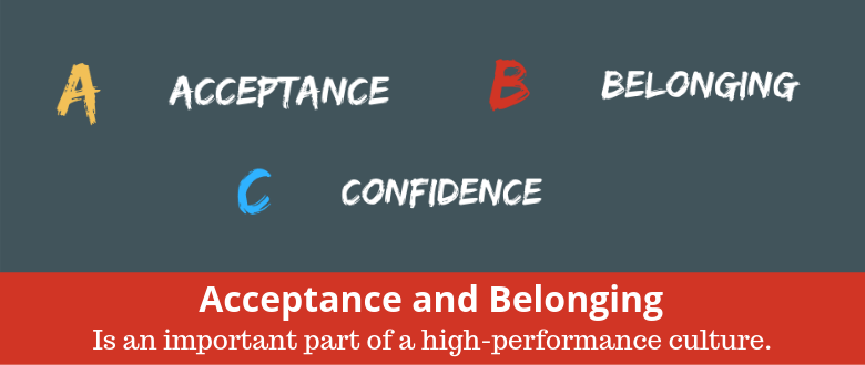 Acceptance and Belonging