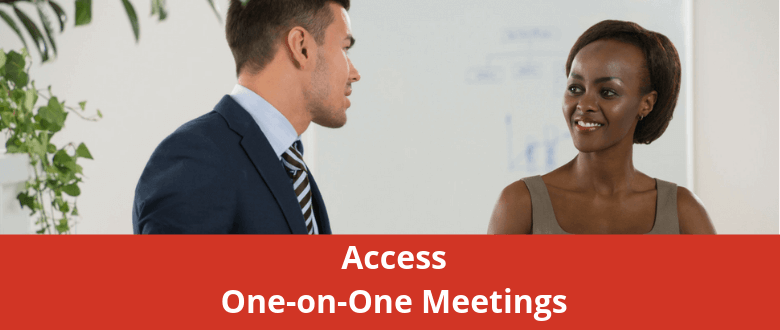 Access One-on-One Meetings