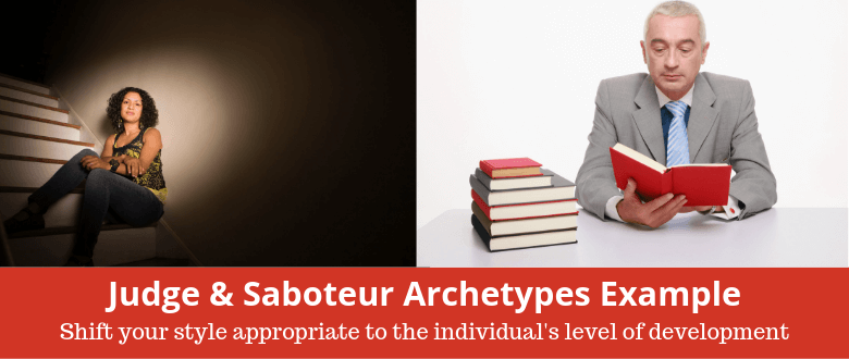 Judge and Saboteur Archetypes Example