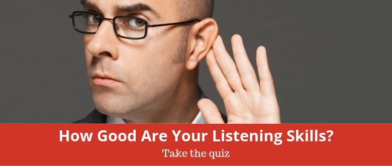 Listening Skills Quiz