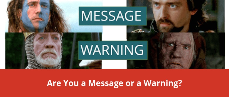message-warning