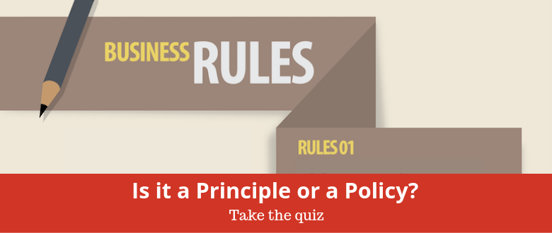 Principle/Policy Quiz