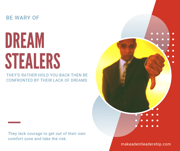 impact of dream stealers
