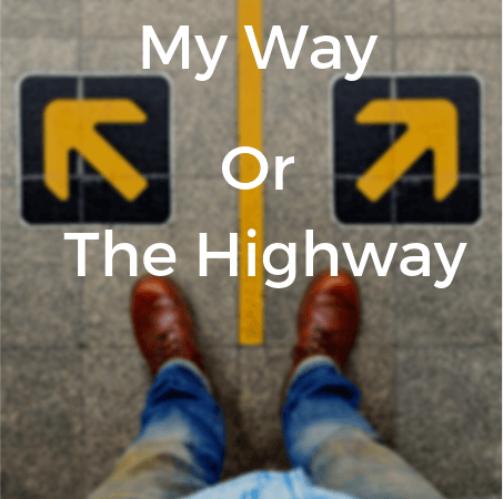 my way highway autocratic leadership