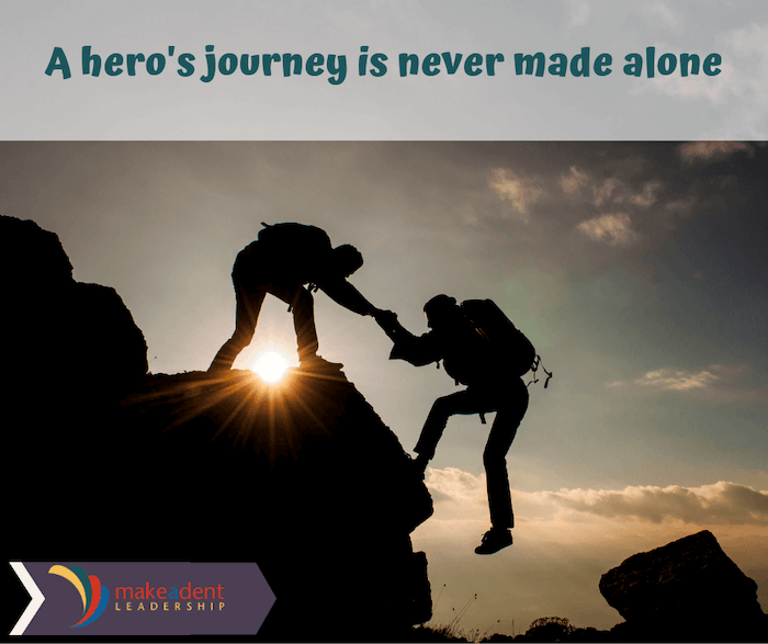 Success Formula: A hero's journey is never made alone