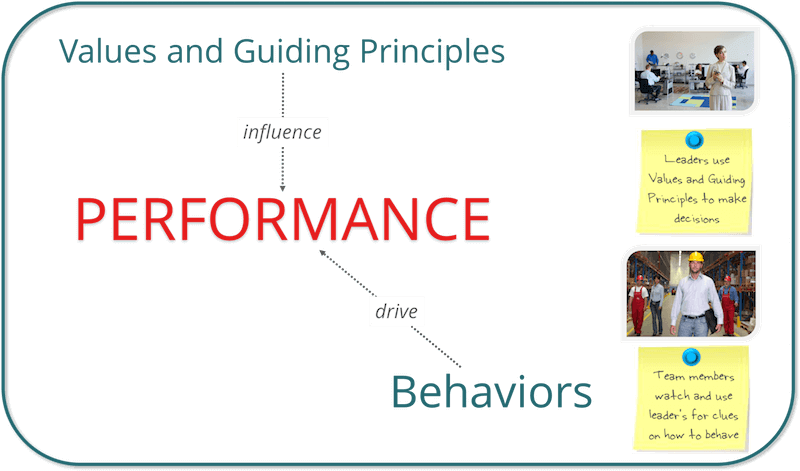 Organizational Values and Behavior